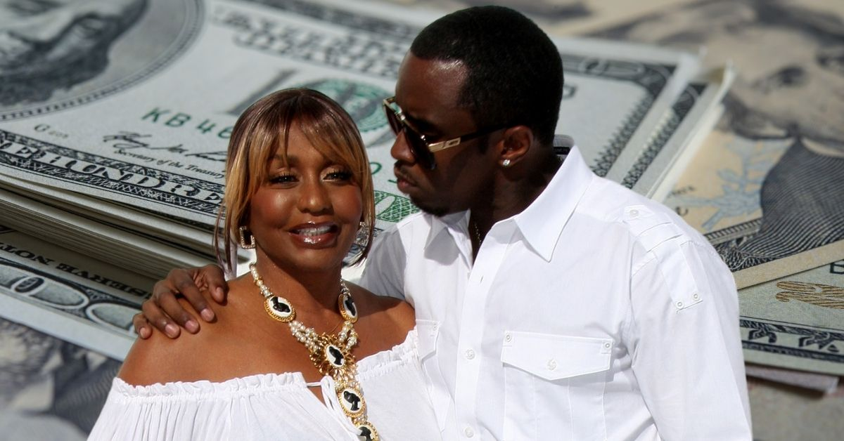 Janice Combs and Sean Diddy Combs