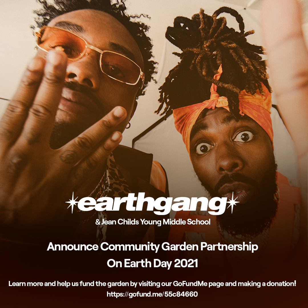 EARTHGANG EARTH DAY PROMO FLYER