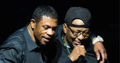 Keith Sweat and Bobby Brown