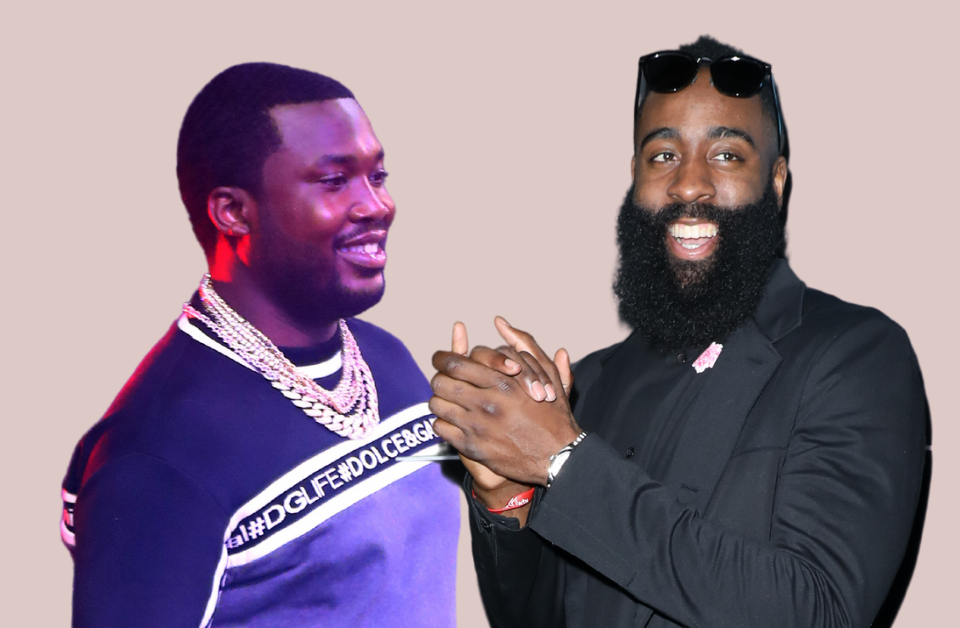 Meek Mill and James Harden