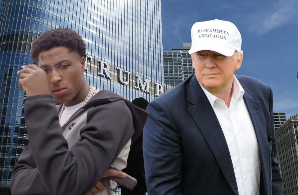 NBA YoungBoy and Donald Trump