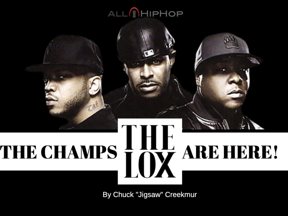 The Lox The Champs Are Here By Chuck Jigsaw Creekmur
