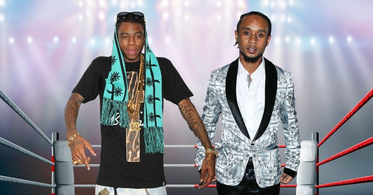 Soulja Boy And Slim Jxmmi Ready To Fight It Out...Can Snoop Dogg Make It Happen?